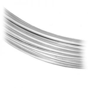 Lut srebrny*srebro AG 925*SLD WIRE 0,6 mm