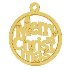 Świateczna przywieszka Merry Christmas LK-1048 - 0,50