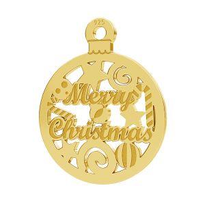 Świateczna przywieszka Merry Christmas LK-1087 - 0,50