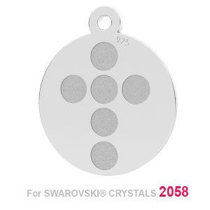 Krzyz zawieszka baza (2058 SS 7) LK-1175 - 0,50 ver.1