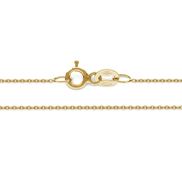 Anker złoty łańcuszek do celebrytek 14K - AD 020 AU 585 - MODEL 2