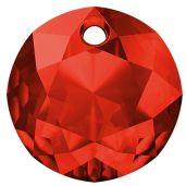 Zawieszka okrągła, Classic Cut Pendant, Swarovski Crystals, 6430 MM 8,0 LIGHT SIAM
