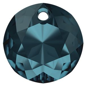 Zawieszka okrągła, Classic Cut Pendant, Swarovski Crystals, 6430 MM 8,0 MONTANA