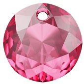 Zawieszka okrągła, Classic Cut Pendant, Swarovski Crystals, 6430 MM 8,0 ROSE