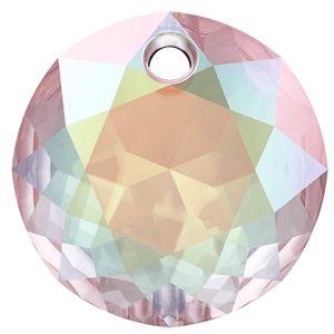 Zawieszka okrągła, Classic Cut Pendant, Swarovski Crystals, 6430 MM 8,0 CRYSTAL AB
