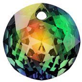 Zawieszka okrągła, Classic Cut Pendant, Swarovski Crystals, 6430 MM 8,0 CRYSTAL VM P