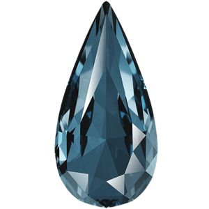 Teardrop Fancy Stone, Swarovski Crystals, 4322 MM 10,0X 5,0 DENIM BLUE F