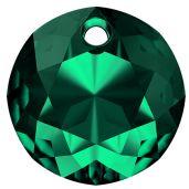 Zawieszka okrągła, Classic Cut Pendant, Swarovski Crystals, 6430 MM 14,0 EMERALD