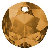 Zawieszka okrągła, Classic Cut Pendant, Swarovski Crystals, 6430 MM 14,0 TOPAZ