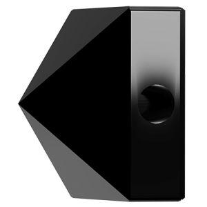 Koralik kwadrat ćwiek, Square Spike Bead, Swarovski Crystals, 5061 MM 5,5 JET