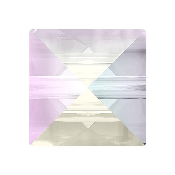 Koralik kwadrat ćwiek, Square Spike Bead, Swarovski Crystals, 5061 MM 5,5 CRYSTAL AB