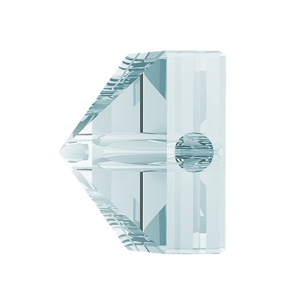 Square Spike Bead, Swarovski Crystals, 5061 MM 5,5 CRYSTAL BLUE SHADE