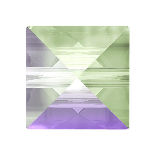 Koralik kwadrat ćwiek, Square Spike Bead, Swarovski Crystals, 5061 MM 5,5 CRYSTAL PARADISHE SHINE