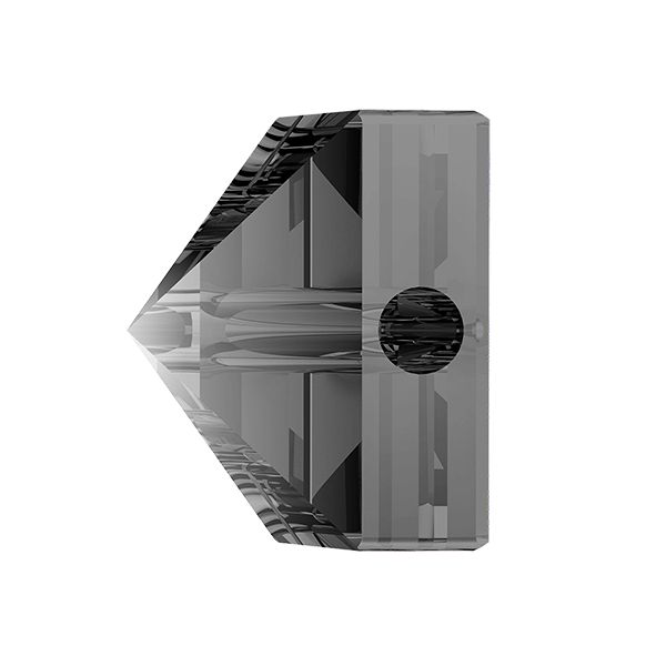 Koralik kwadrat ćwiek, Square Spike Bead, Swarovski Crystals, 5061 MM 5,5 CRYSTAL SILVER NIGHT