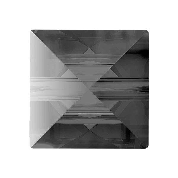 Square Spike Bead, Swarovski Crystals, 5061 MM 5,5 CRYSTAL SILVER NIGHT