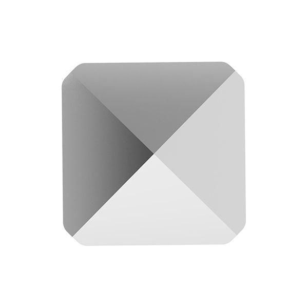 Koralik kwadrat ćwiek, Square Spike Bead, Swarovski Crystals, 5061 MM 5,5 CRYSTAL LIGHT CHROME