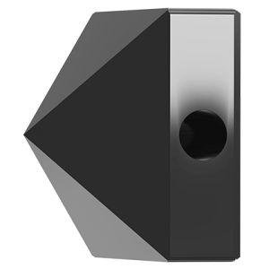 Koralik kwadrat ćwiek, Square Spike Bead, Swarovski Crystals, 5061 MM 5,5 JET HEMATITE