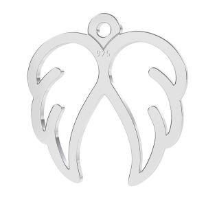 Zawieszka szkłydła, srebro 925, LK-1271 - 0,50