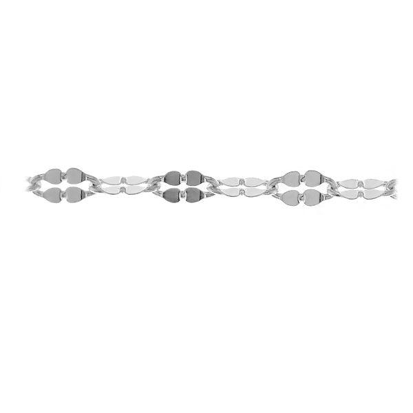 Łańcuszek srebrny na metry Anker Koniczyna, A 040 QDF ALT