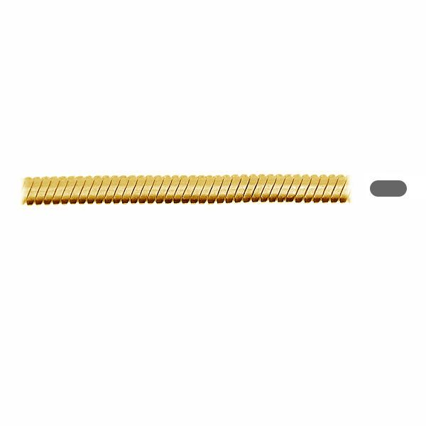 Łańcuszek metraż - typu Snake*srebro AG 925*SN 025 OVAL 0,8x1,5 mm