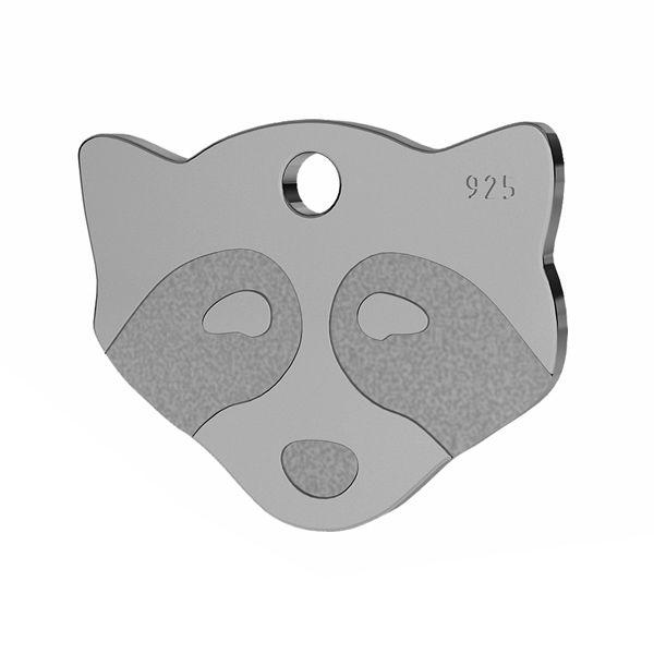 Szop przywieszka, ze srebra próby 925, LK-1311 - 0,50