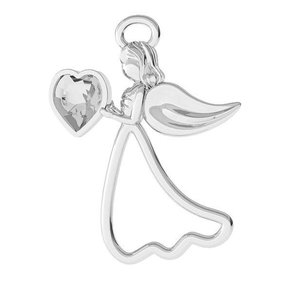 Anioł zawieszka, srebro 925, LK-1276 - 0,50