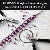 BILET GOLD - tworzenie biżuterii i własnej marki