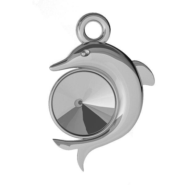 Delfin przywieszka do Rivoli, srebro 925, ODL-00357 (1122 SS 29)