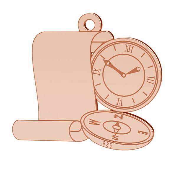 Kompas zawieszka, srebro próby 925, LK-1369 - 0,50