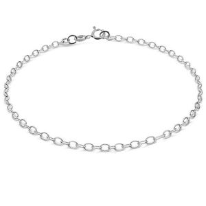 Bransoleta łańcuszkowa - baza do CHARMS*srebro AG 925*A 050 19 cm