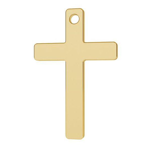 Krzyżyk zawieszka złoto 14K, LKZ-1372 - 0,30