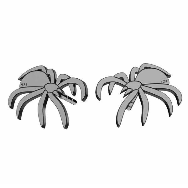 Pająk kolczyki, srebro próby 925, LK-1387 KLS - 0,50