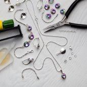 Zestaw DIY do robienia biżuterii - DIY with SILVEXCRAFT  NO.02001