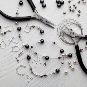 Zestaw DIY do robienia biżuterii - DIY with SILVEXCRAFT  NO.02004