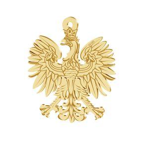 Złota zawieszka orzeł, złoto 14K, LKZ-00471 - 0,30