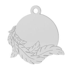 Skrzydła zawieszka, srebro próby 925, LK-1467 - 0,50