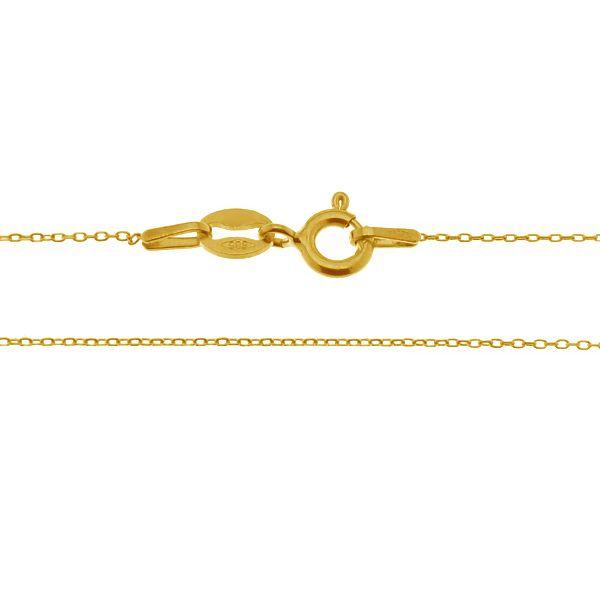 Anker złoty łańcuszek do celebrytek 14K - AD 020 AU 585 - MODEL 3