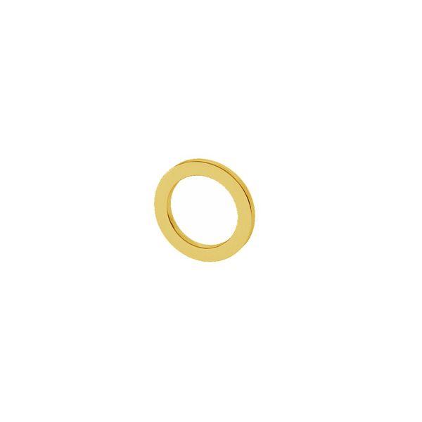 Otwarte koło zawieszka 7mm, srebro próby 925, LK-1499 - 0,50
