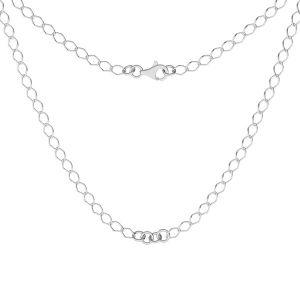 Baza do naszyjników, celebrytek, srebro 925, S-CHAIN 27 (R1 50)