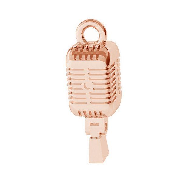 Mikrofon zawieszka ze srebra 925, ODL-00410