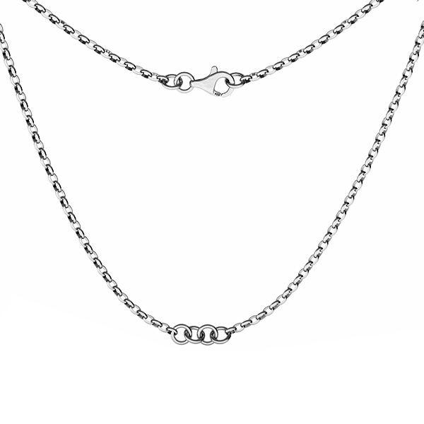 Baza do naszyjników, celebrytek, srebro 925, S-CHAIN 29 (ROLO OVAL 0,35X0,60)