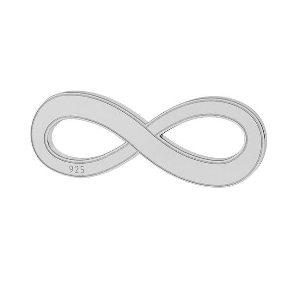 Znak nieskończoności zawieszka srebro 925, LKM-2021
