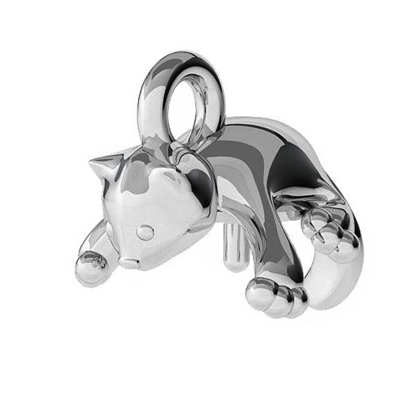 Zawieszka kot baza do pereł 8 mm, srebro 925, ODL-00452 (5818 MM 8)