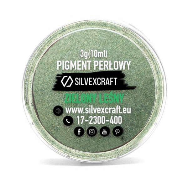 Pigment perłowy zielony, 3 g