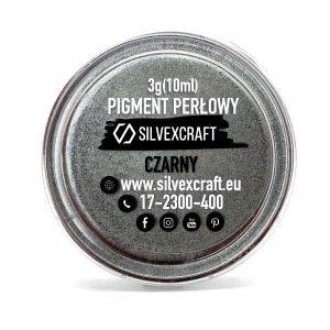Pigment perłowy czarny, 3 g