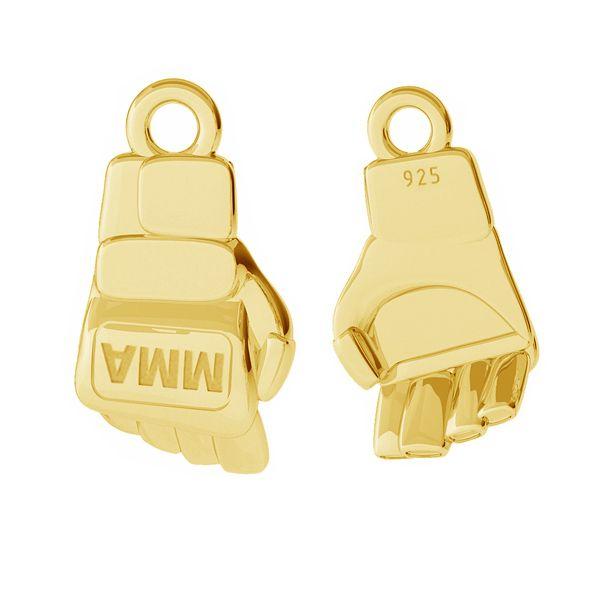 Rękawice MMA przywieszka ze srebra próby 925, ODL-00473