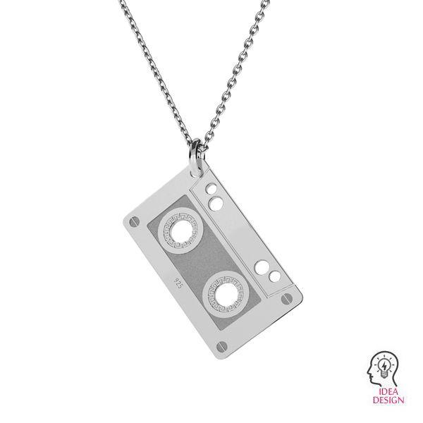 Kaseta zawieszka, ze srebra 925, LK-1431 - 0,50