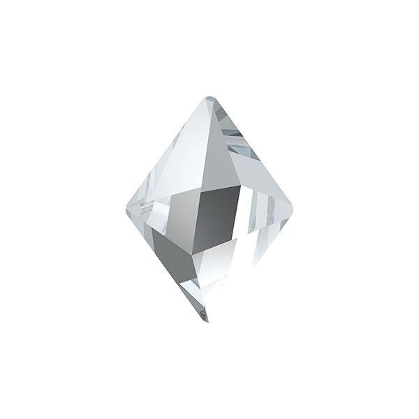 4929 MM 14,0X 10,5 CRYSTAL F, Tilted Spike Fancy Stone