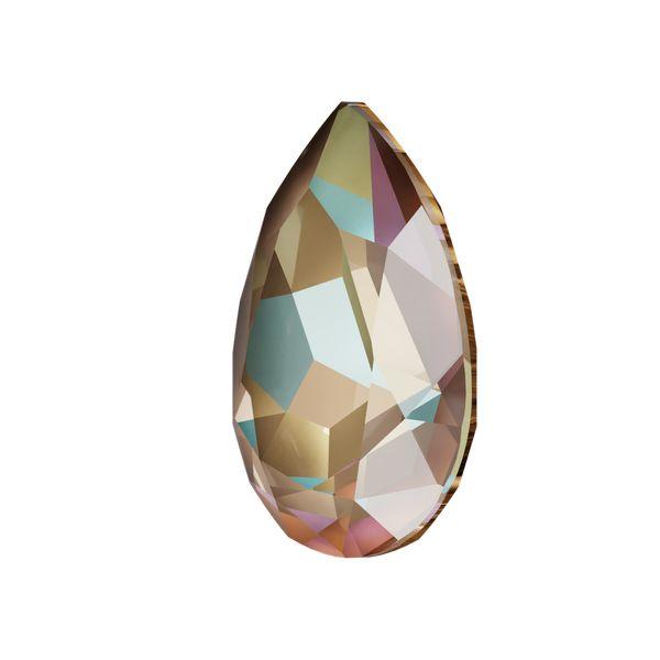 4320 MM 14,0X 10,0 CRYSTAL CAPPUCCI_D, Pear Fancy Stone