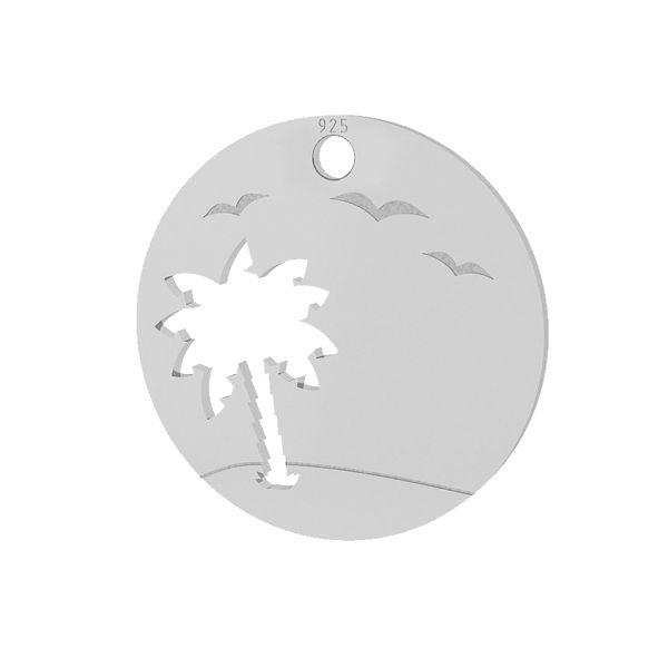 Palma zawieszka, ze srebra 925, LKM-2089 - 0,50